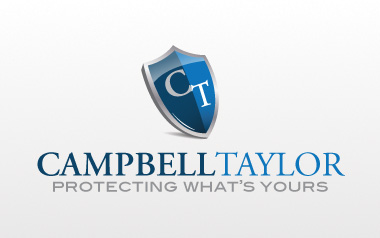 Campbell Taylor Insurance Logo Design