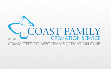 Coast Family Cremation Service Logo Design