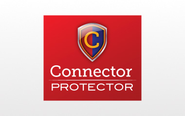 Connector Protector Logo Design