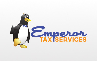 Emporer Tax Services Logo Design
