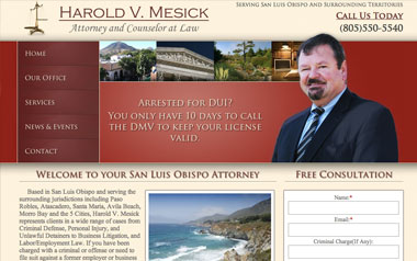 Harold Mesick Attorney At Law