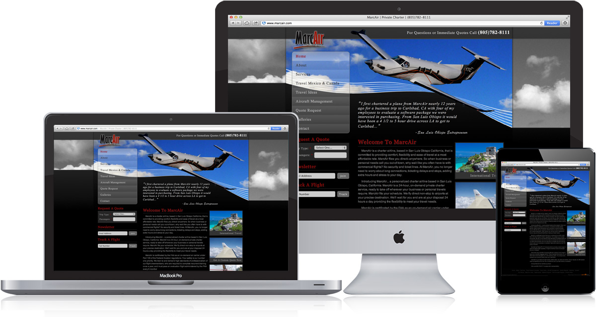 Coast Family Cremation Responsive Website Design